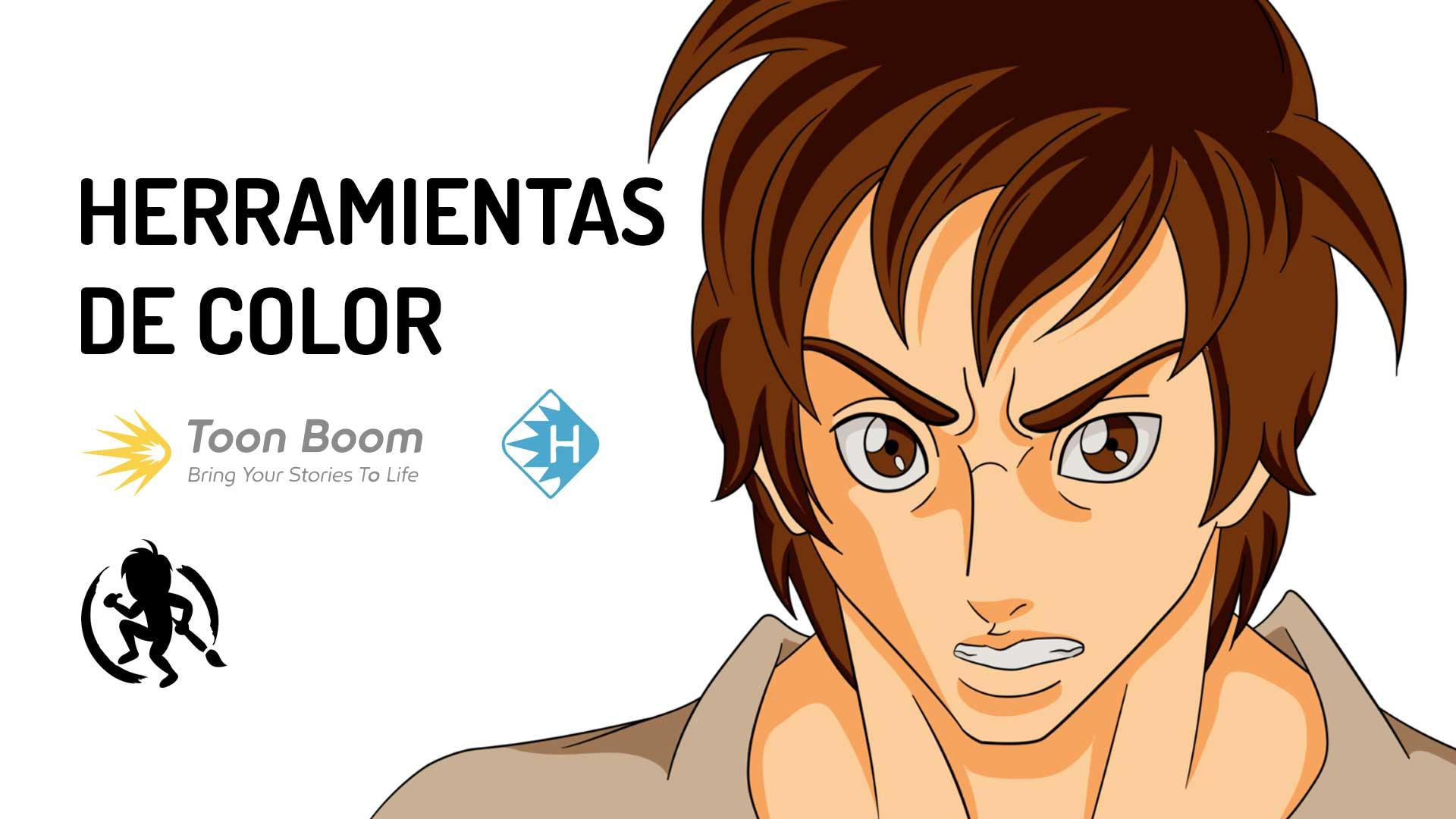 Herramientas de color en Toon Boom Harmony