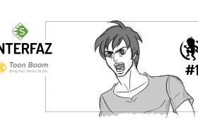 Interfaz de Toon Boom Storyboard Pro