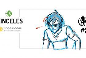 Tipos de pinceles en Toon Boom Storyboard Pro