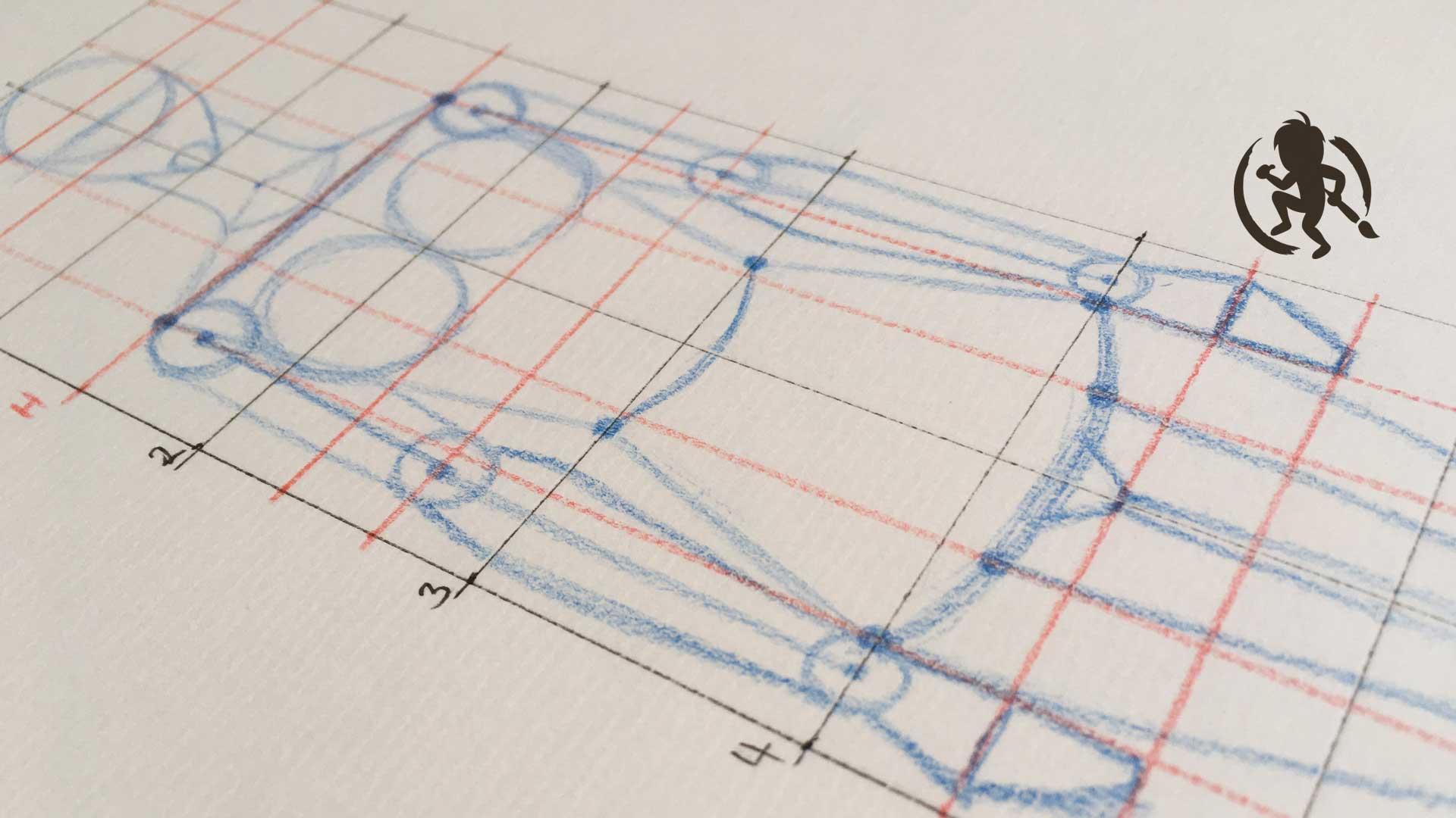 Como dibujar la estructura del cuerpo femenino | Kevin Farias