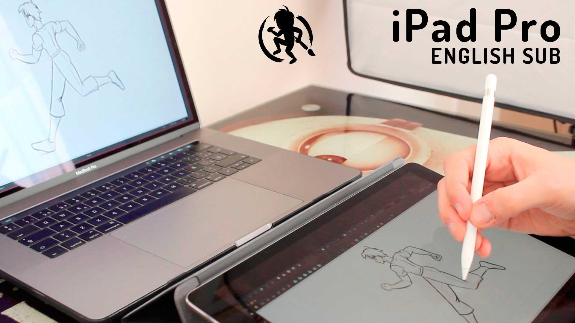 iPad Pro como Cintiq de Wacom