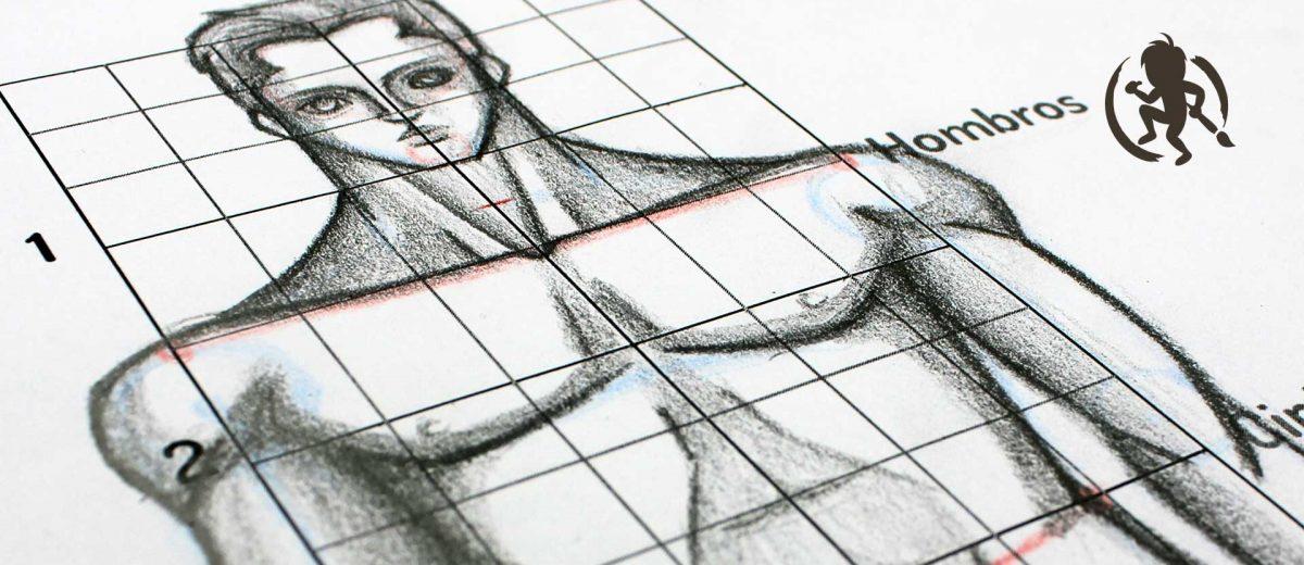 Como dibujar el cuerpo masculino