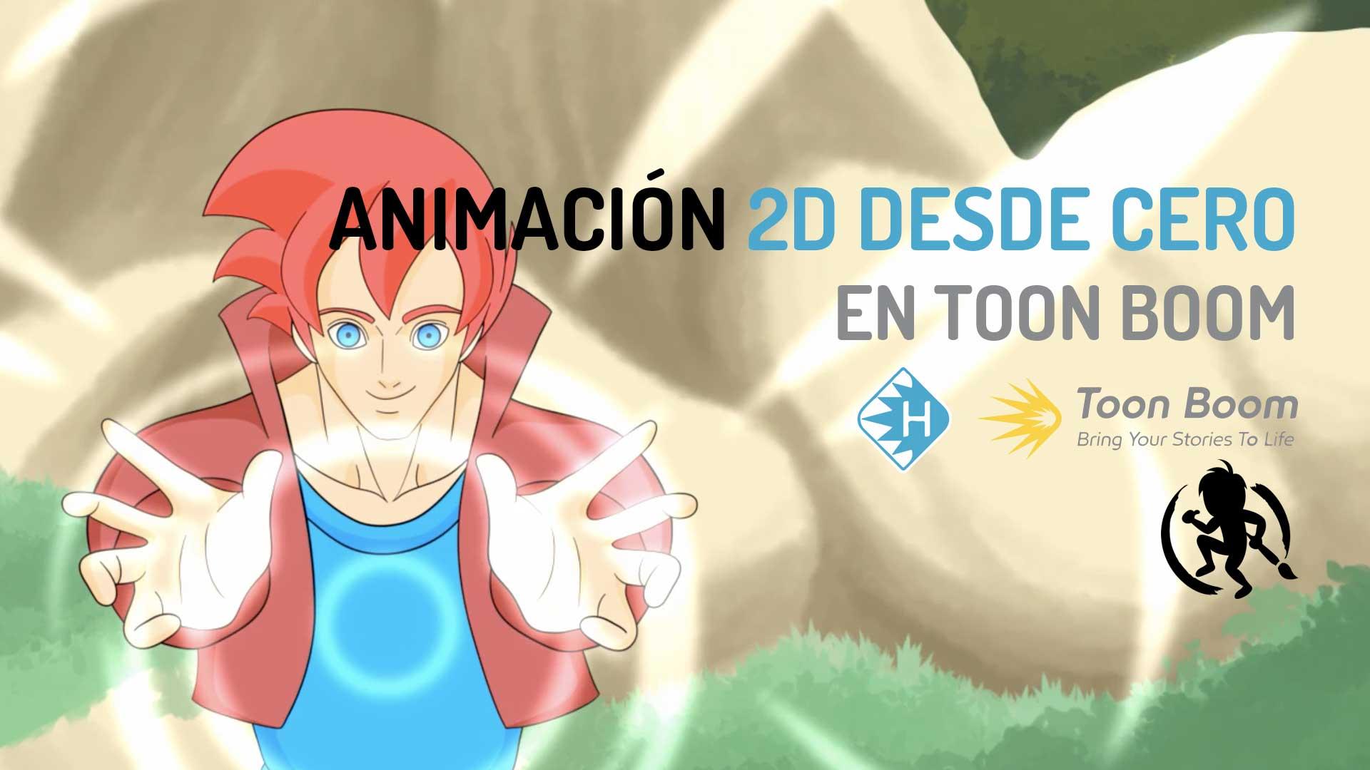Animacion 2D desde cero en Toon Boom