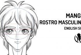 Como dibujar el rostro masculino estilo Manga