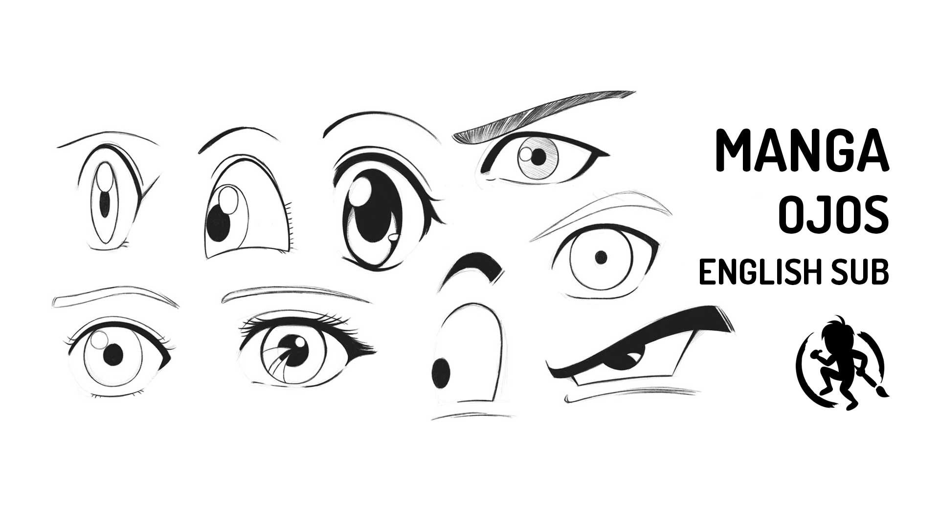 Como dibujar ojos estilo Manga
