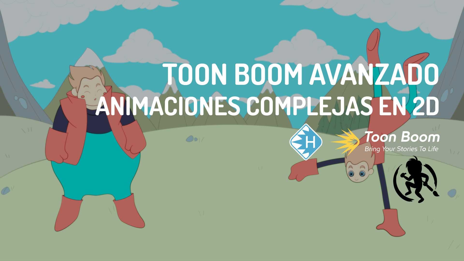 Toon Boom Avanzado Animaciones Complejas en 2D