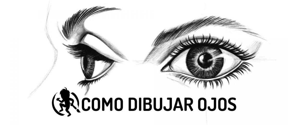 Como dibujar paso a paso el ojo humano