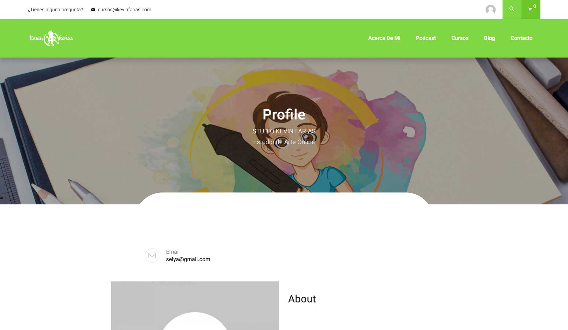 Página de tu Perfil
