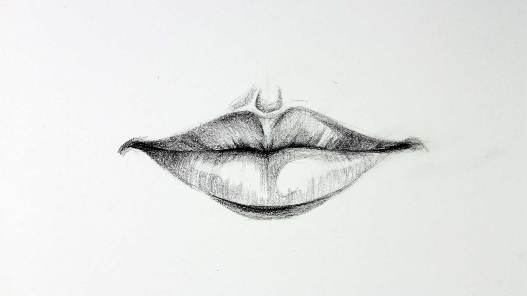 Como Dibujar Labios De Frente Kevin Farias