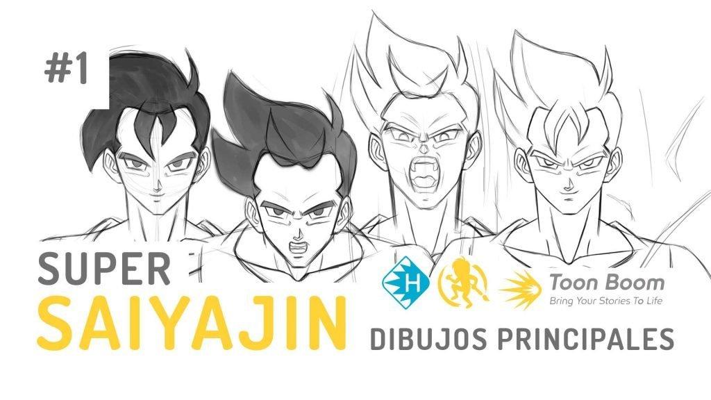 Como animar una transformación en Super Saiyajin