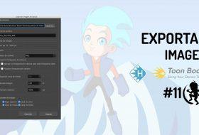 Como exportar una imagen en Toon Boom Harmony