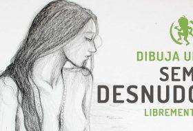 Como dibujar un semi desnudo femenino