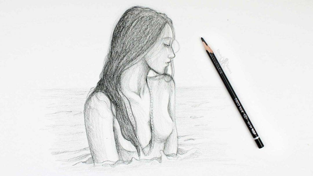 Semi desnudo Femenino por Kevin Farias