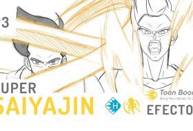 Como animar los efectos del Super Saiyajin