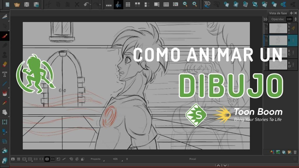 Como animar un dibujo en Storyboard Pro