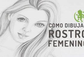 Como dibujar un rostro femenino libremente
