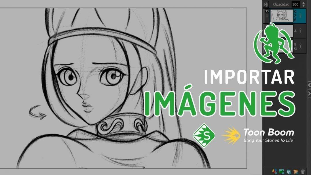 Como importar imágenes en Storyboard Pro
