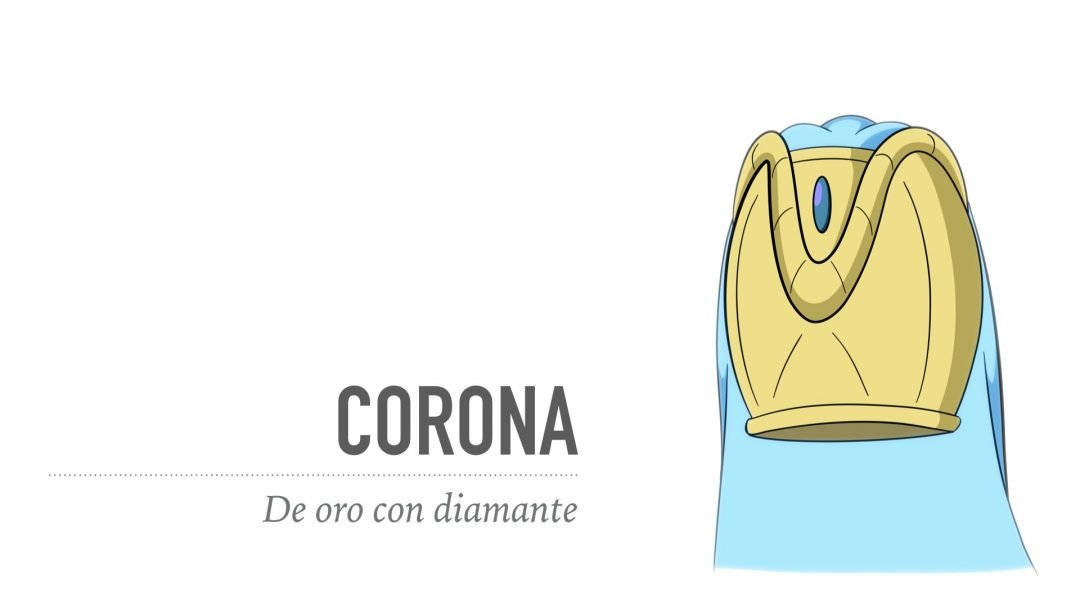 Corona - Oro con un diamante