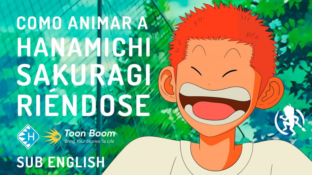 Como animar a Hanamichi Sakuragi riendose