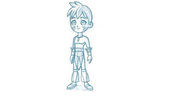 Diseño del Personaje - Curso Crea tu Rig en Toon Boom Harmony