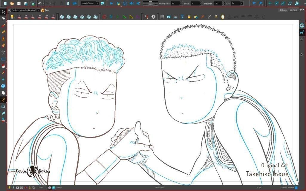 Limpieza de Ryota y Hanamichi
