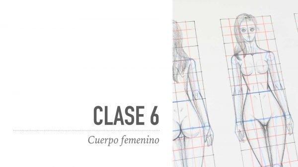 Dibuja el cuerpo femenino