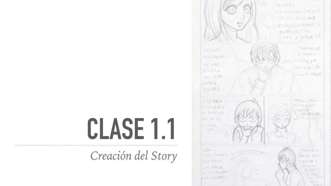 Creación del Story de la Página del Manga