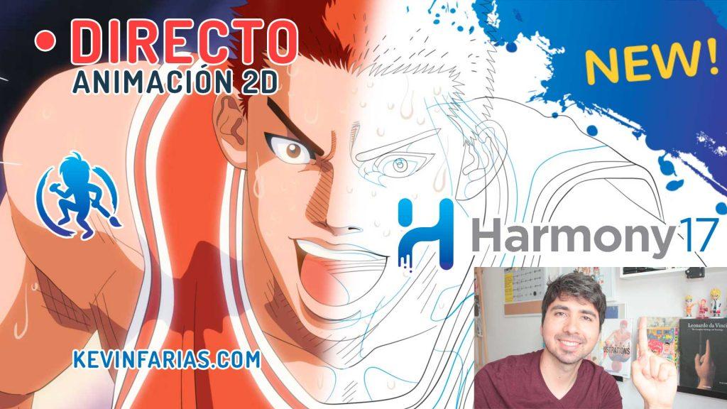 Directo 14 Animación 2D en Toon Boom Harmony