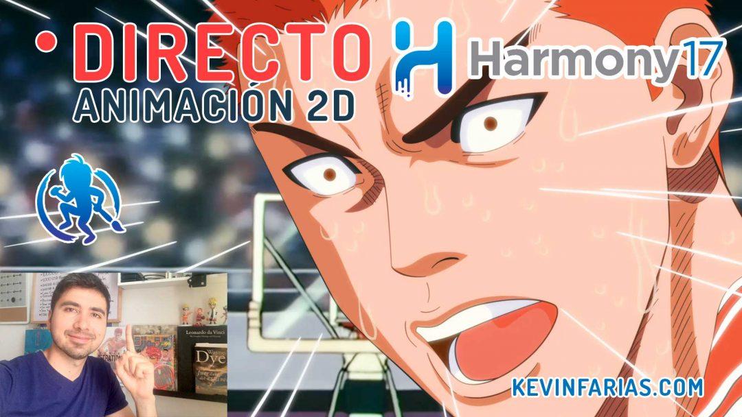 Directo 15 Animación 2D en Toon Boom Harmony