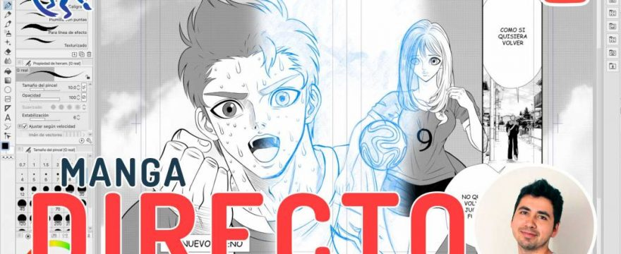 Directo 22 Manga en Clip Studio Paint