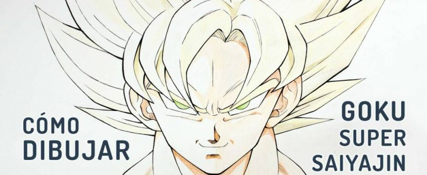 Como dibujar a Goku en Super Saiyajin