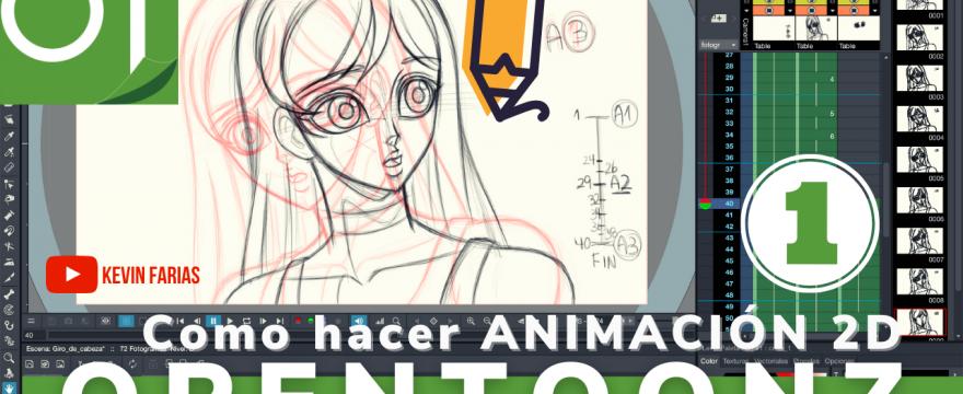 Como hacer Animación 2D en OpenToonz