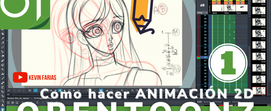Como hacer Animación 2D en OpenToonz (GRATIS!)