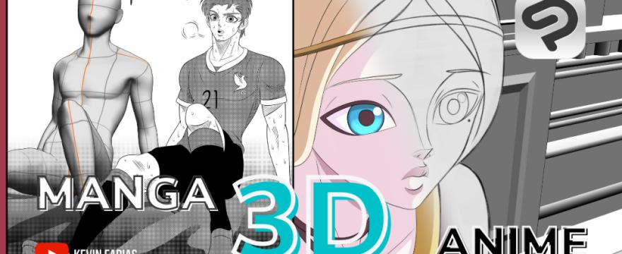 Materiales 3D en Clip Studio Paint