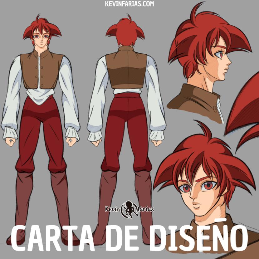 Carta de Diseño de Animación 2D por Kevin Farias