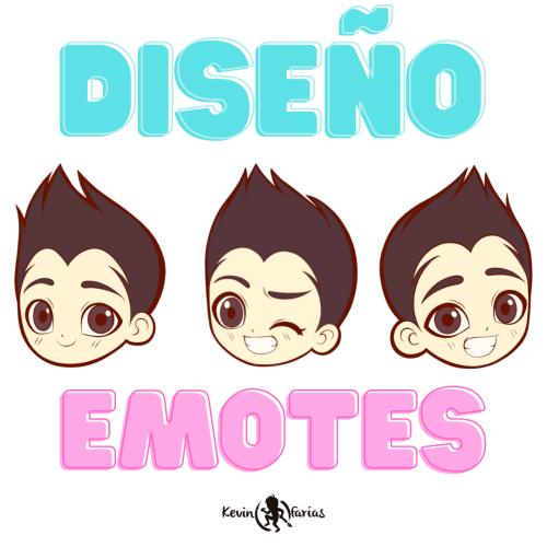 Diseño de Emotes por Kevin Farias